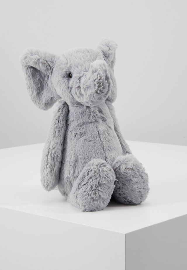 BASHFUL ELEPHANT MEDIUM - Cuddly toy - grey