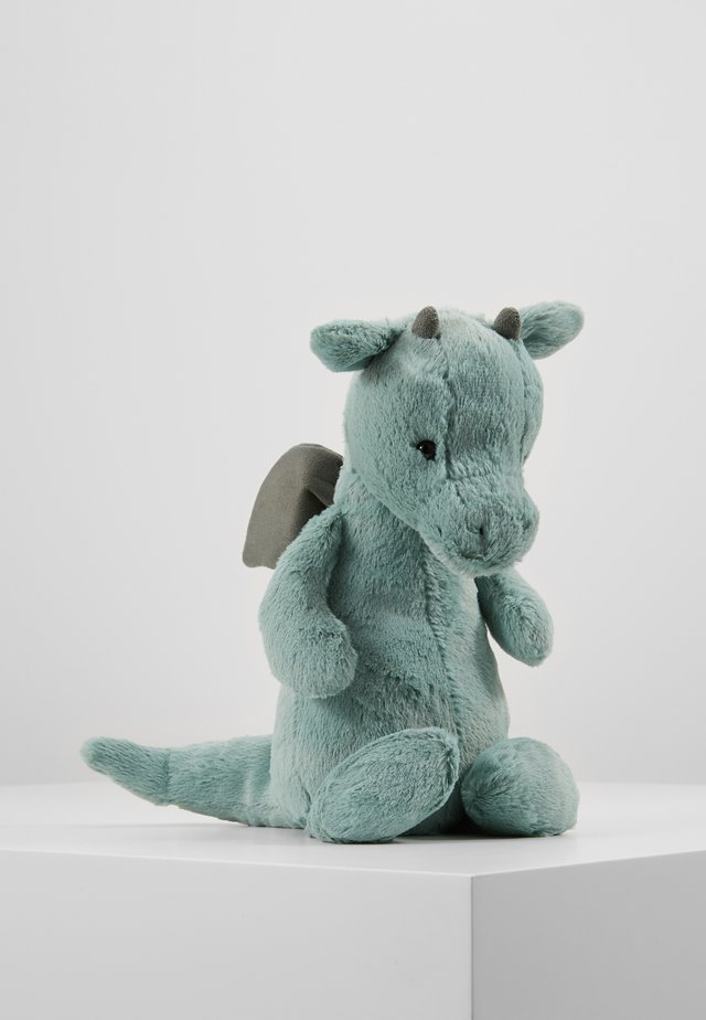 BASHFUL DRAGON - Cuddly toy - green