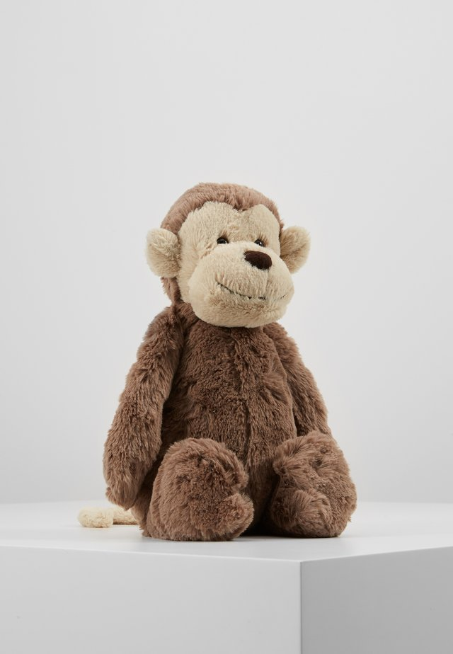 BASHFUL MONKEY - Cuddly toy - braun