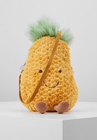 Jellycat - AMUSEABLE PINEAPPLE BAG - Across body bag - yellow - 0