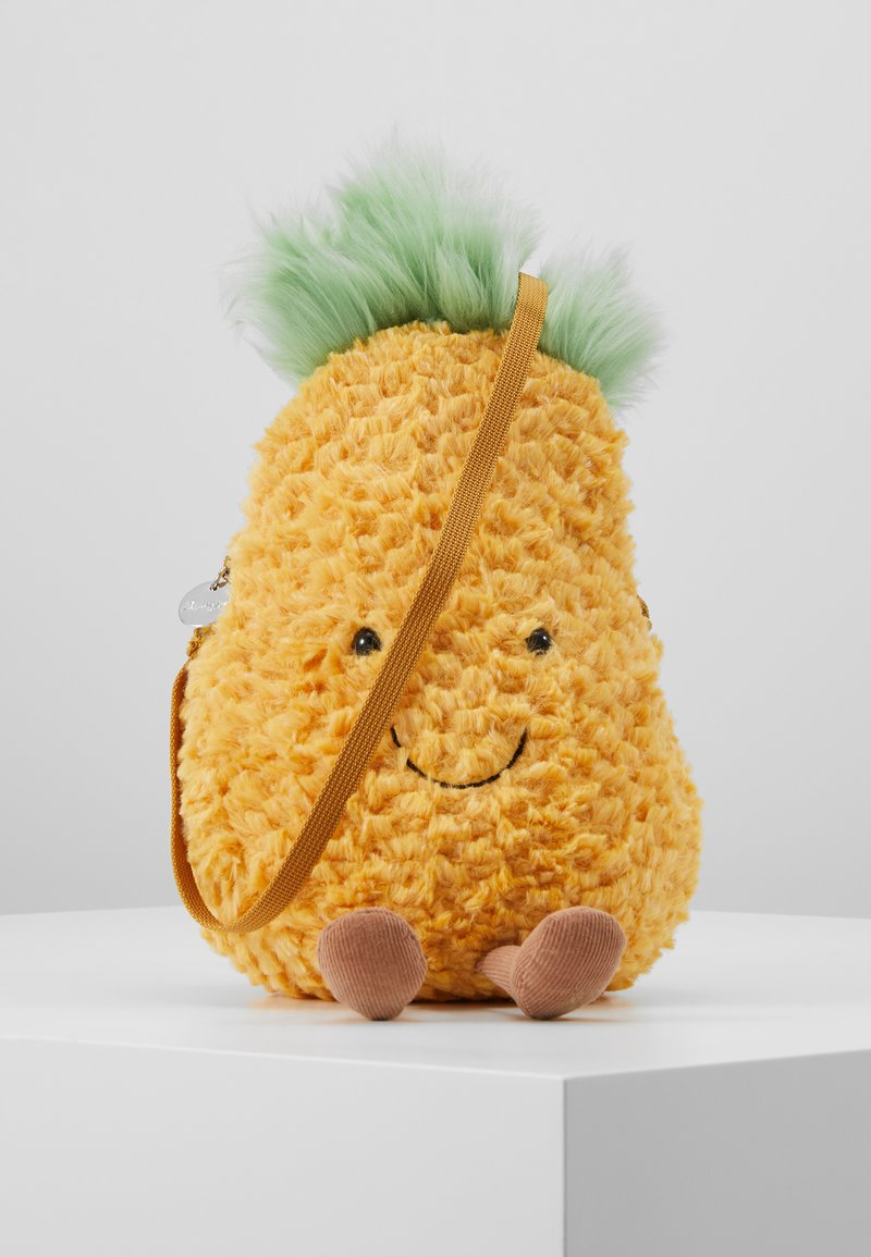 Jellycat - AMUSEABLE PINEAPPLE BAG - Across body bag - yellow