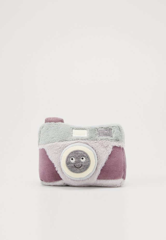 WIGGEDY CAMERA - Cuddly toy - grey