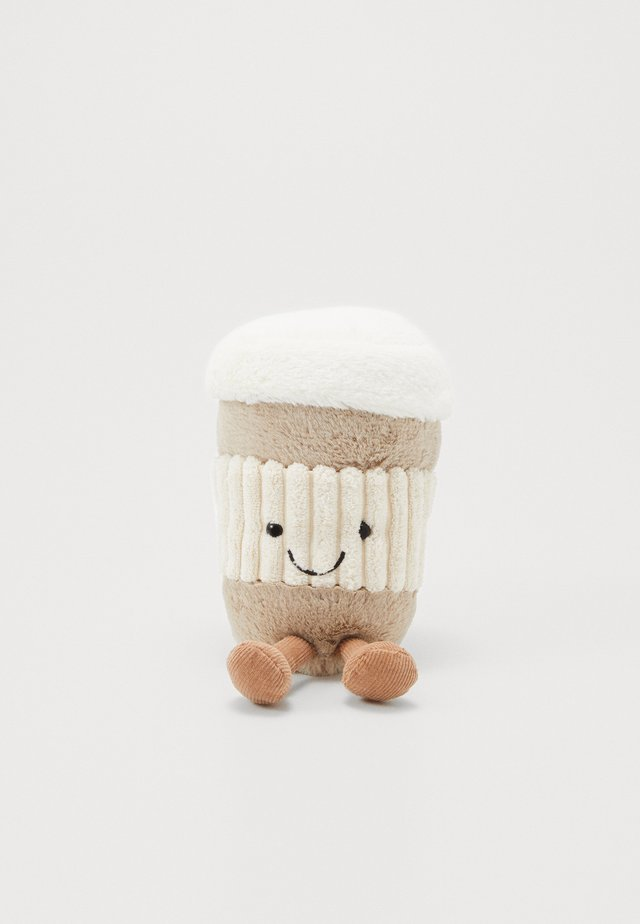 AMUSEABLE COFFEE-TO-GO - Cuddly toy - beige