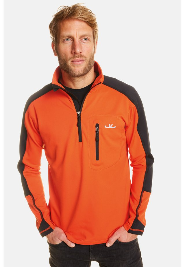 Fleece jumper - orange com