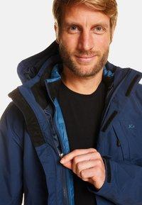 Jeff Green - HARRY - Down jacket - deep navy - 4