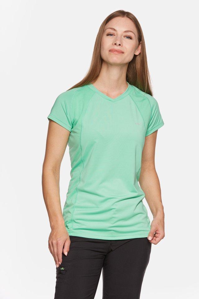 ELLA - Print T-shirt - jade cream