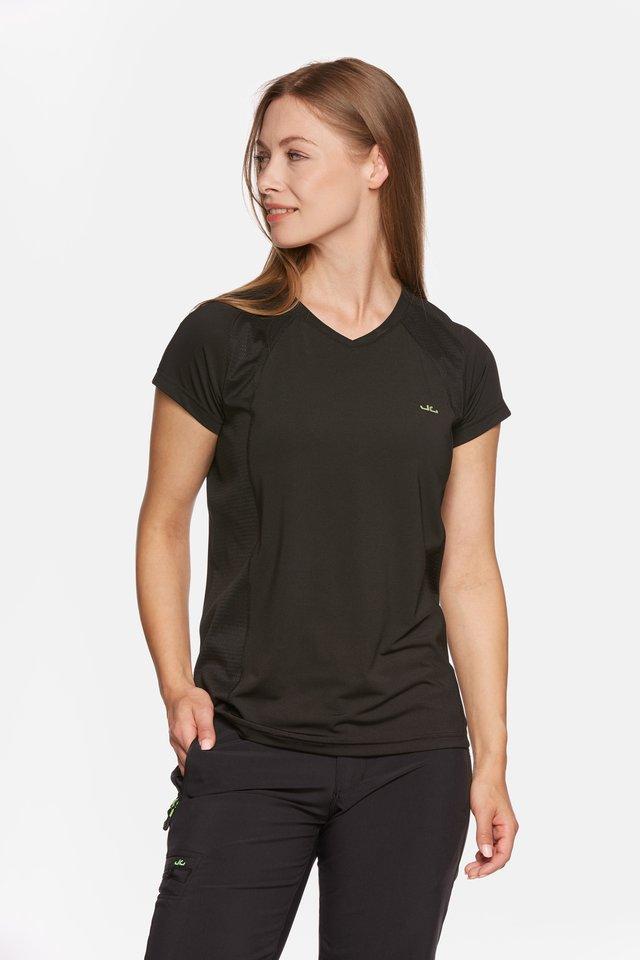 ELLA - Print T-shirt - black
