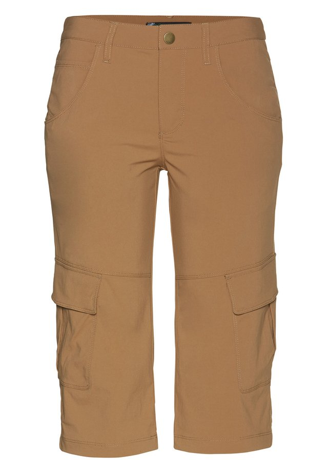 MARLA - 3/4 sports trousers - tobaco