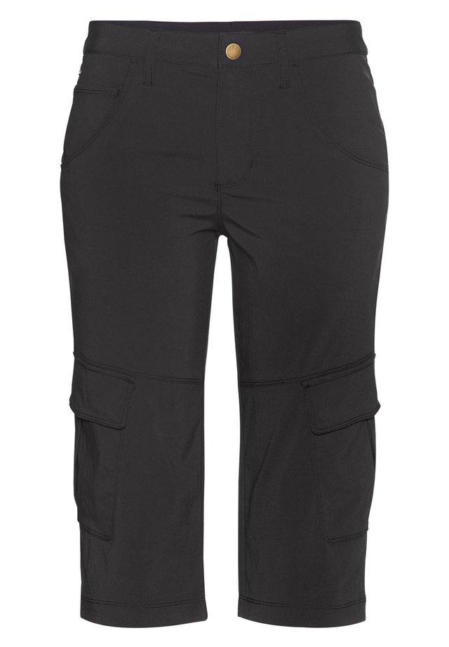 MARLA - 3/4 sports trousers - black