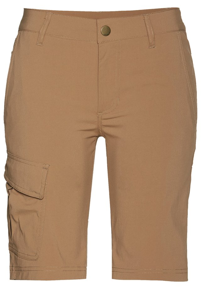 MELINA - Sports shorts - tobaco