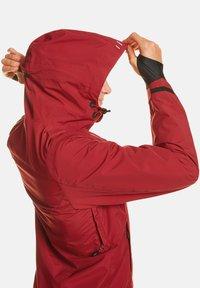 Jeff Green - CLARA - Waterproof jacket - biking red - 4