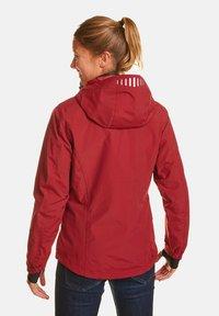Jeff Green - CLARA - Waterproof jacket - biking red - 1