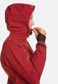 Jeff Green - CLARA - Waterproof jacket - biking red - 3
