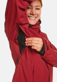 Jeff Green - CLARA - Waterproof jacket - biking red - 2