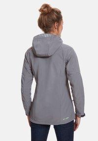 Jeff Green - Soft shell jacket - grey - 1