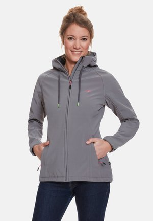 Soft shell jacket - grey