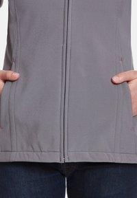 Jeff Green - Soft shell jacket - grey - 3