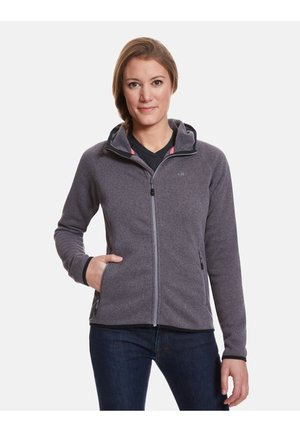 GLORIA - Fleece jacket - lilac grey