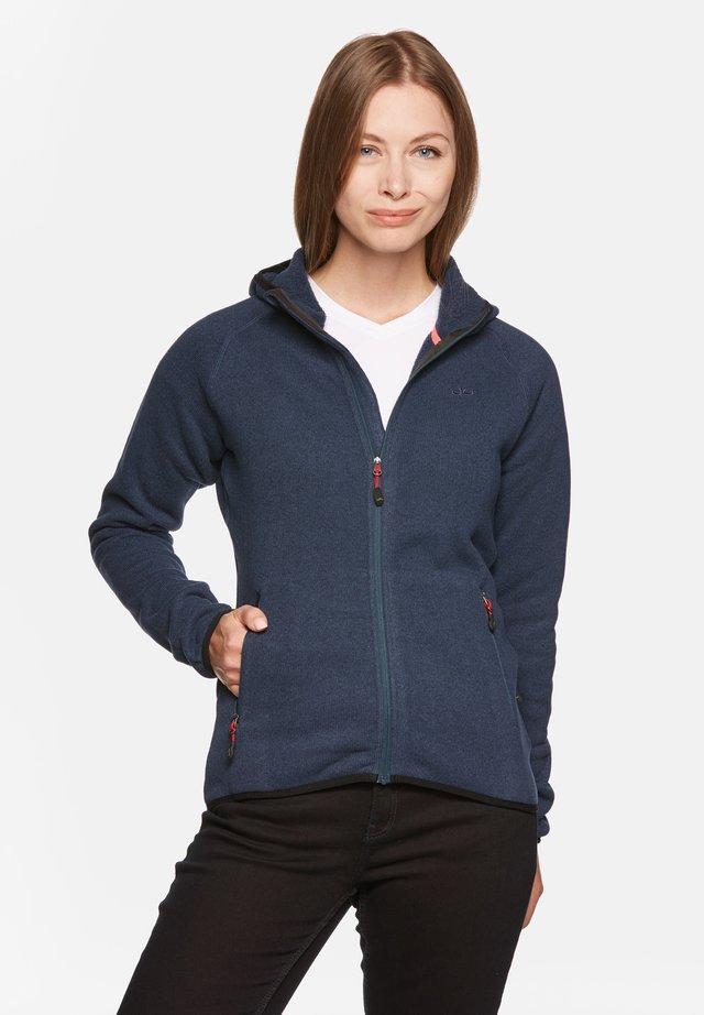 GLORIA - Fleece jacket - deep navy