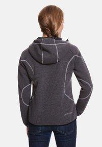 Jeff Green - SLIGO - Zip-up hoodie - ash - 1
