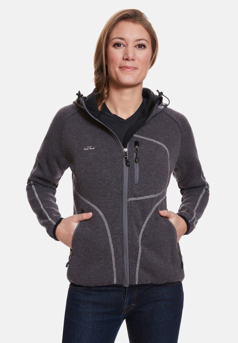 Jeff Green - SLIGO - Zip-up hoodie - ash