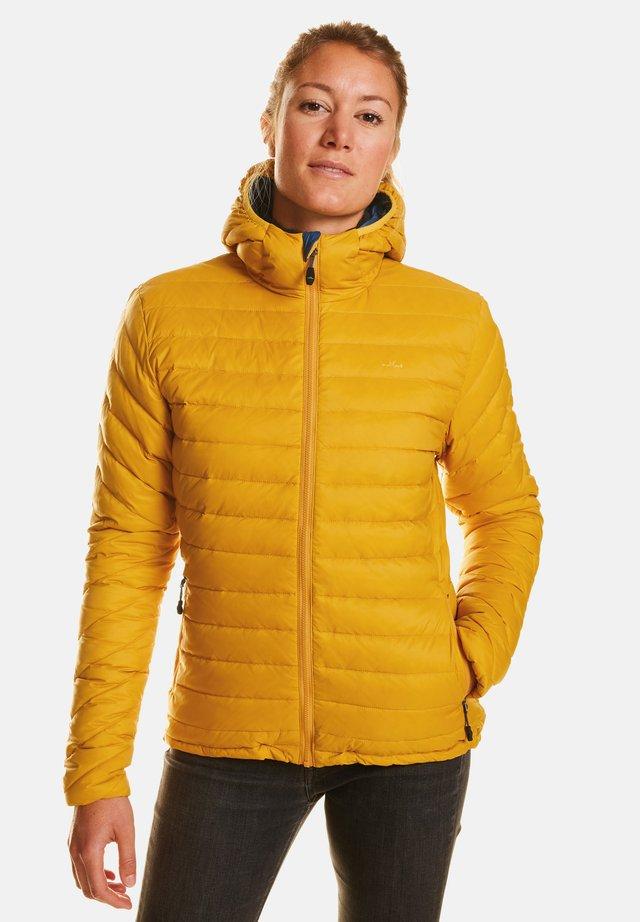 ARIA - Down jacket - golden palm