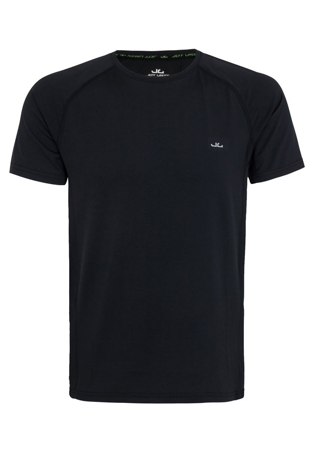MILES - Basic T-shirt - black