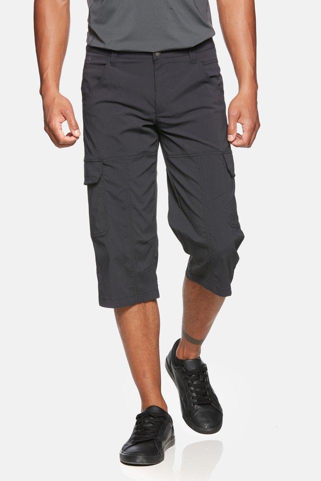 TORNADO - 3/4 sports trousers - black