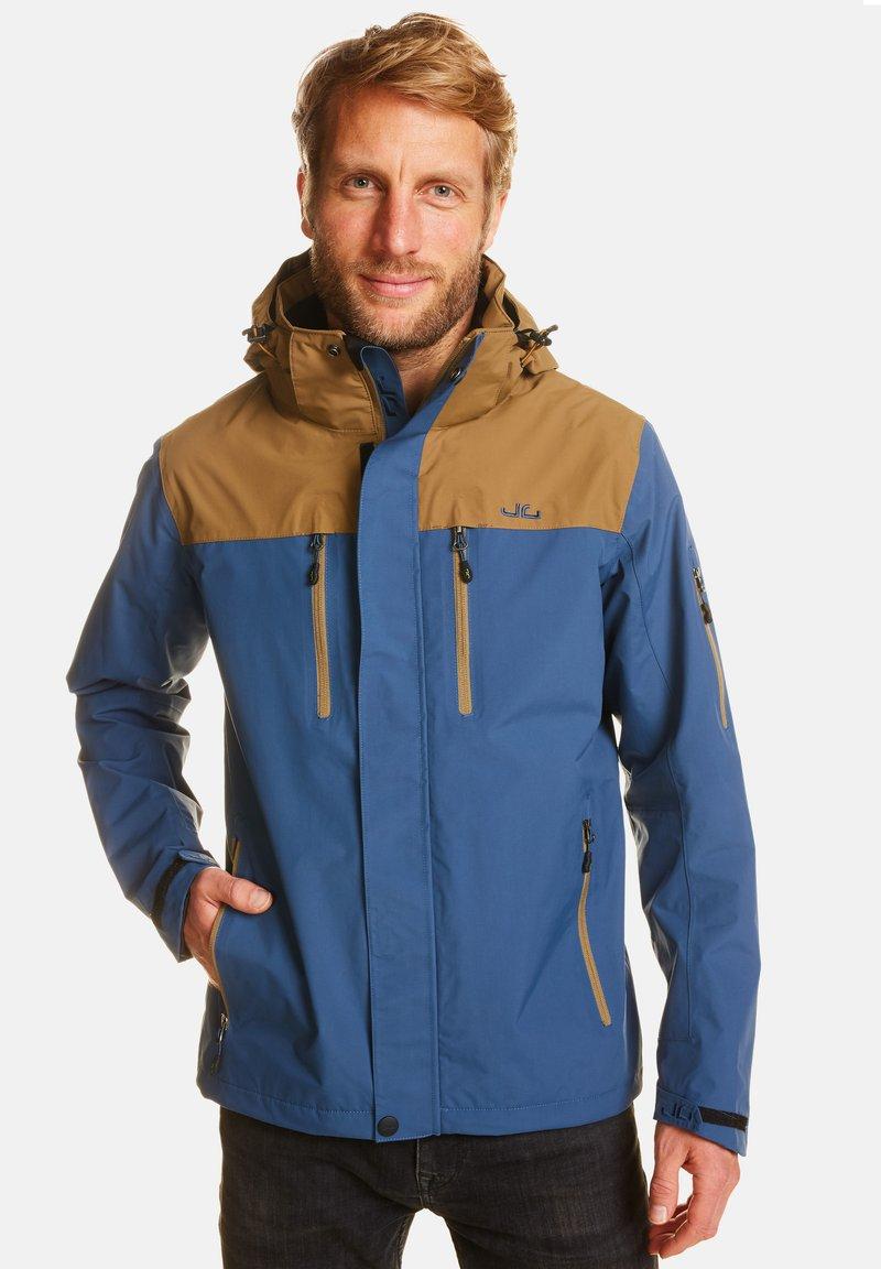 Jeff Green - HARSTAD - Outdoor jacket - blue