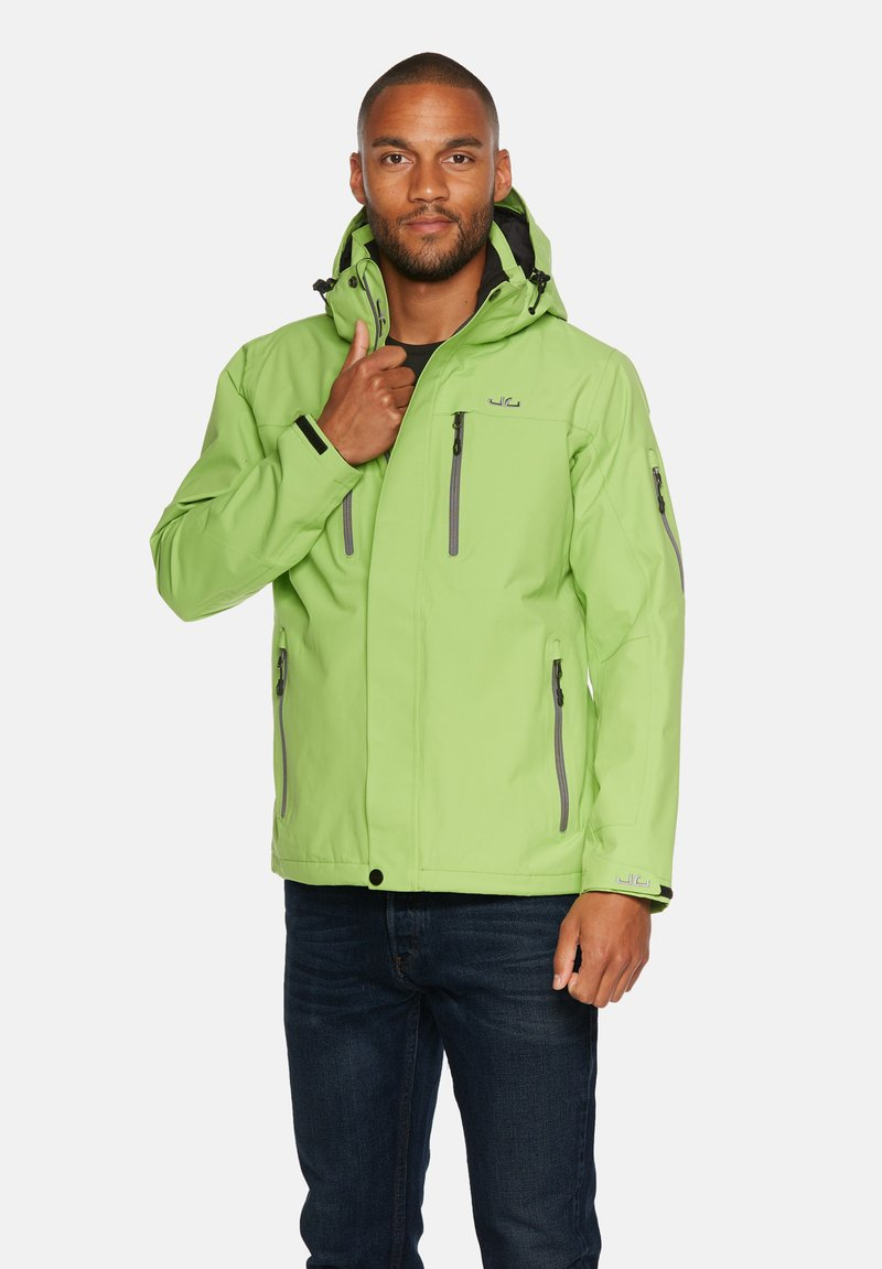 Jeff Green - HARSTAD - Outdoor jacket - kiwi