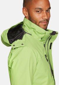 Jeff Green - HARSTAD - Outdoor jacket - kiwi - 4