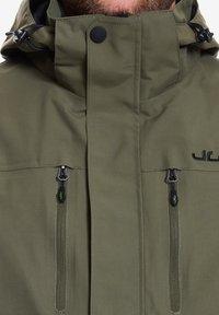 Jeff Green - HARSTAD - Outdoor jacket - olive night - 4