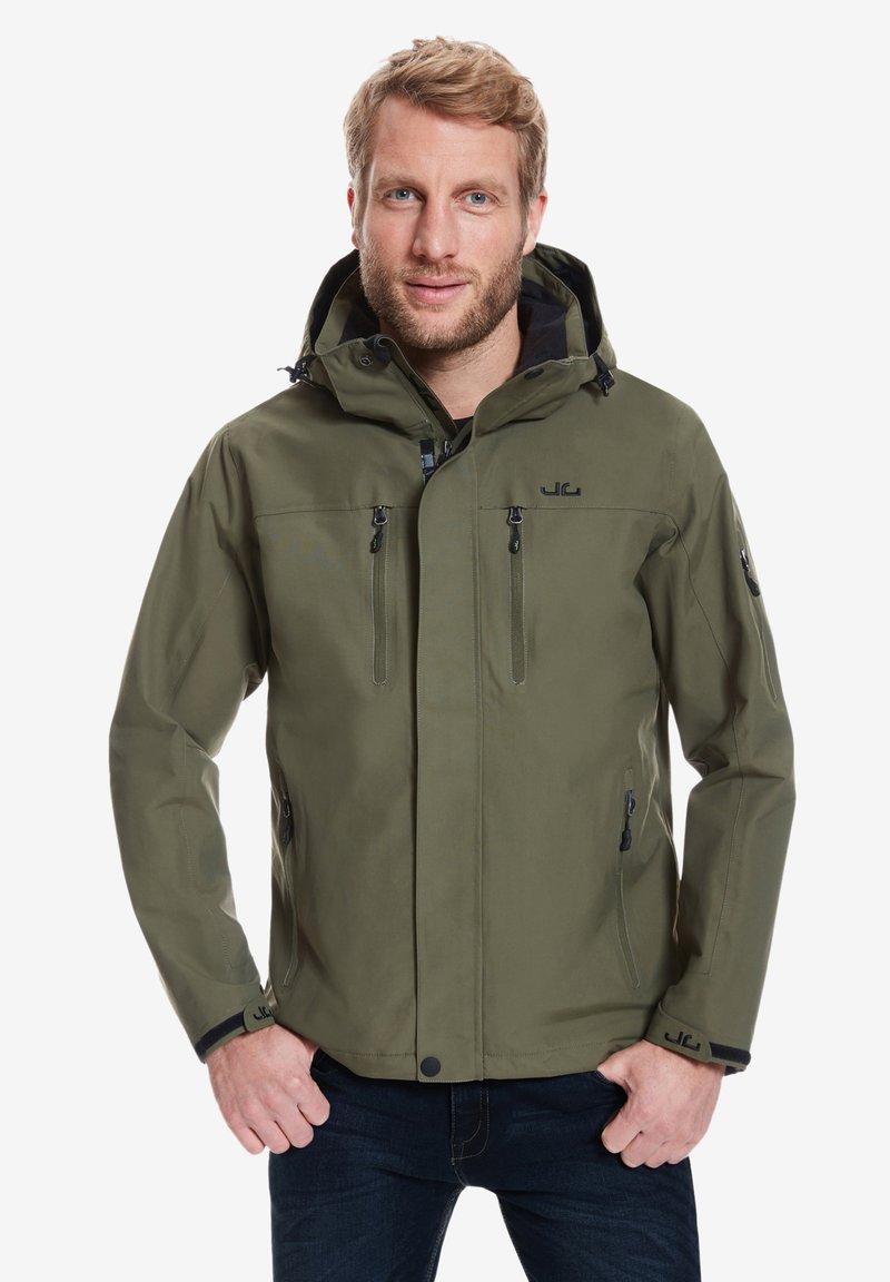 Jeff Green - HARSTAD - Outdoor jacket - olive night