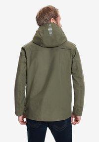 Jeff Green - HARSTAD - Outdoor jacket - olive night - 1