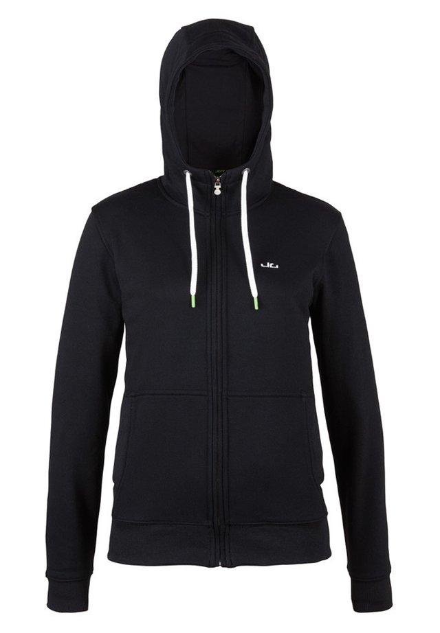 DEENA - Zip-up hoodie - black