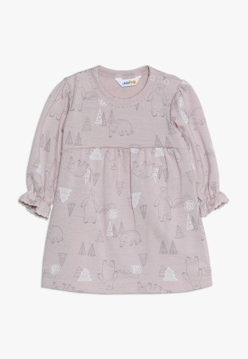 Joha - DRESS A-SHAPE - Jerseykjoler - light pink