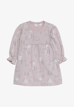 DRESS A-SHAPE - Jersey dress - light pink