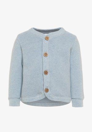 CARDIGAN - Cardigan - blau melange