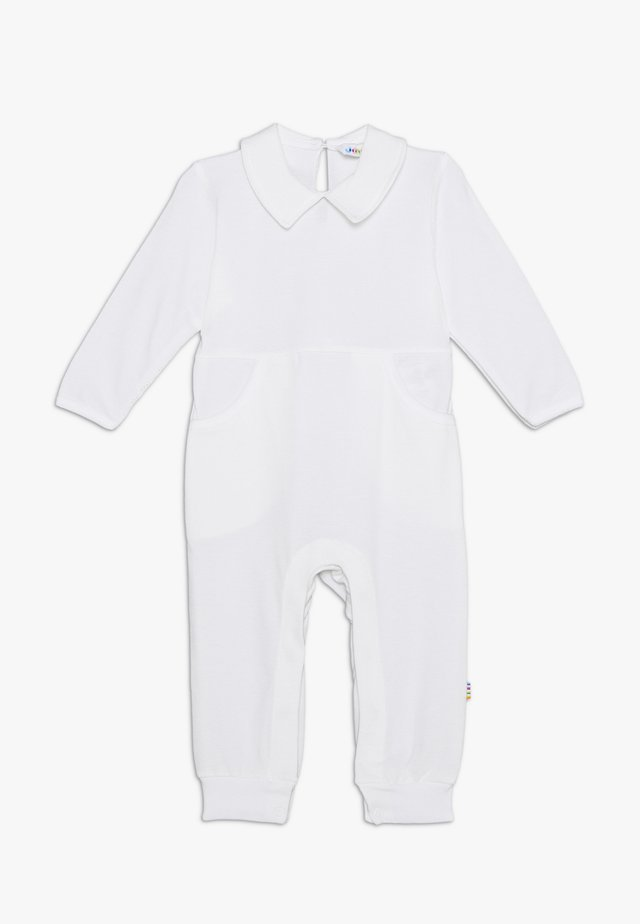 OVERALL WITH COLLAR - Jumpsuit - white