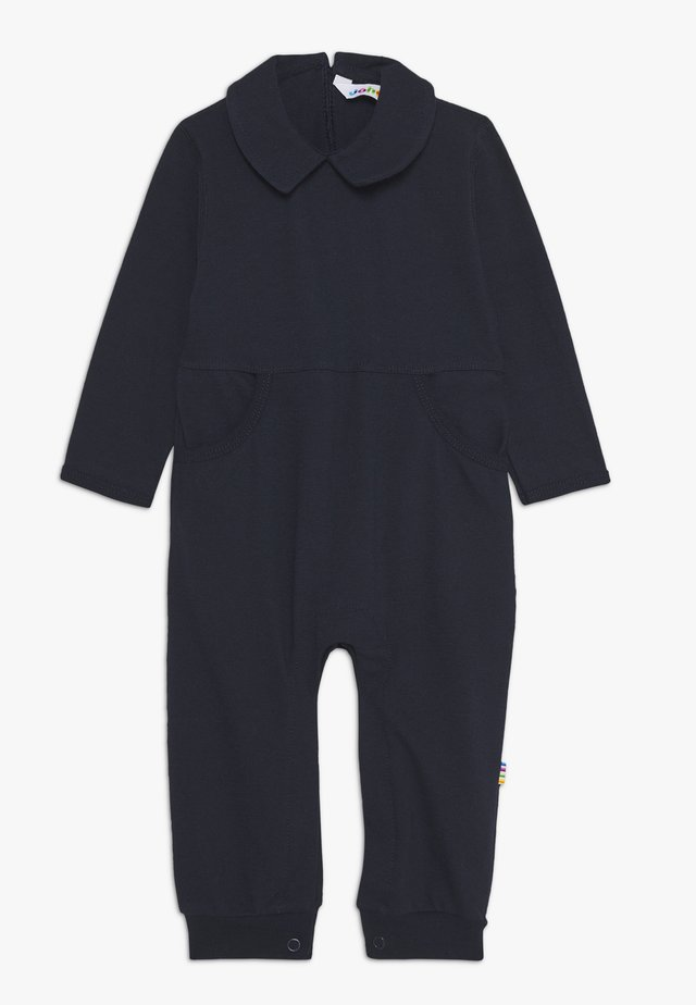 OVERALL WITH COLLAR - Jumpsuit - marine
