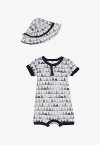 Joha - TENT BABY SET  - Mono - white - 4