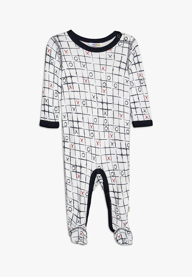 JUMPSUIT FUSS BABY - Overal - white