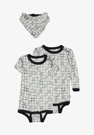 BABY SET - Halsdoek - white