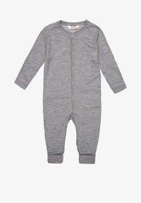 Joha - Pyjama - hellgrau meliert - 0
