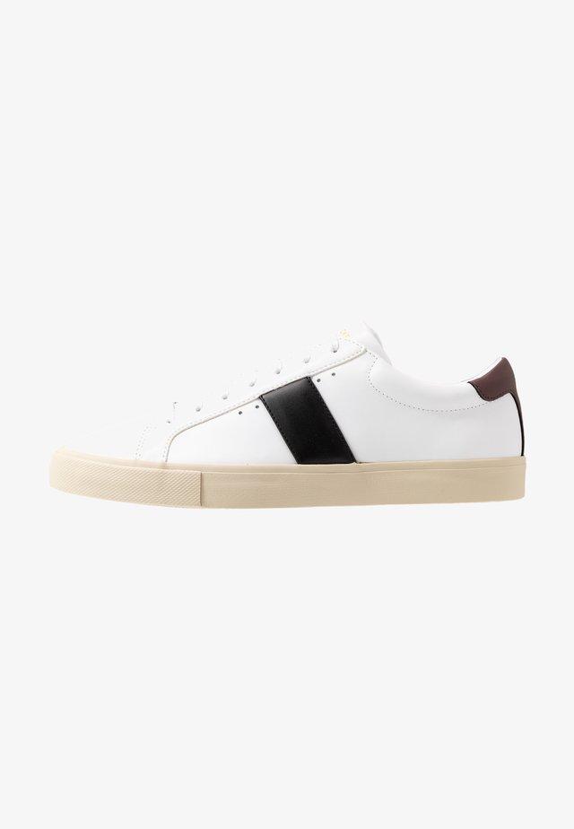 CHOP EVO - Trainers - white/black/deep bordeaux
