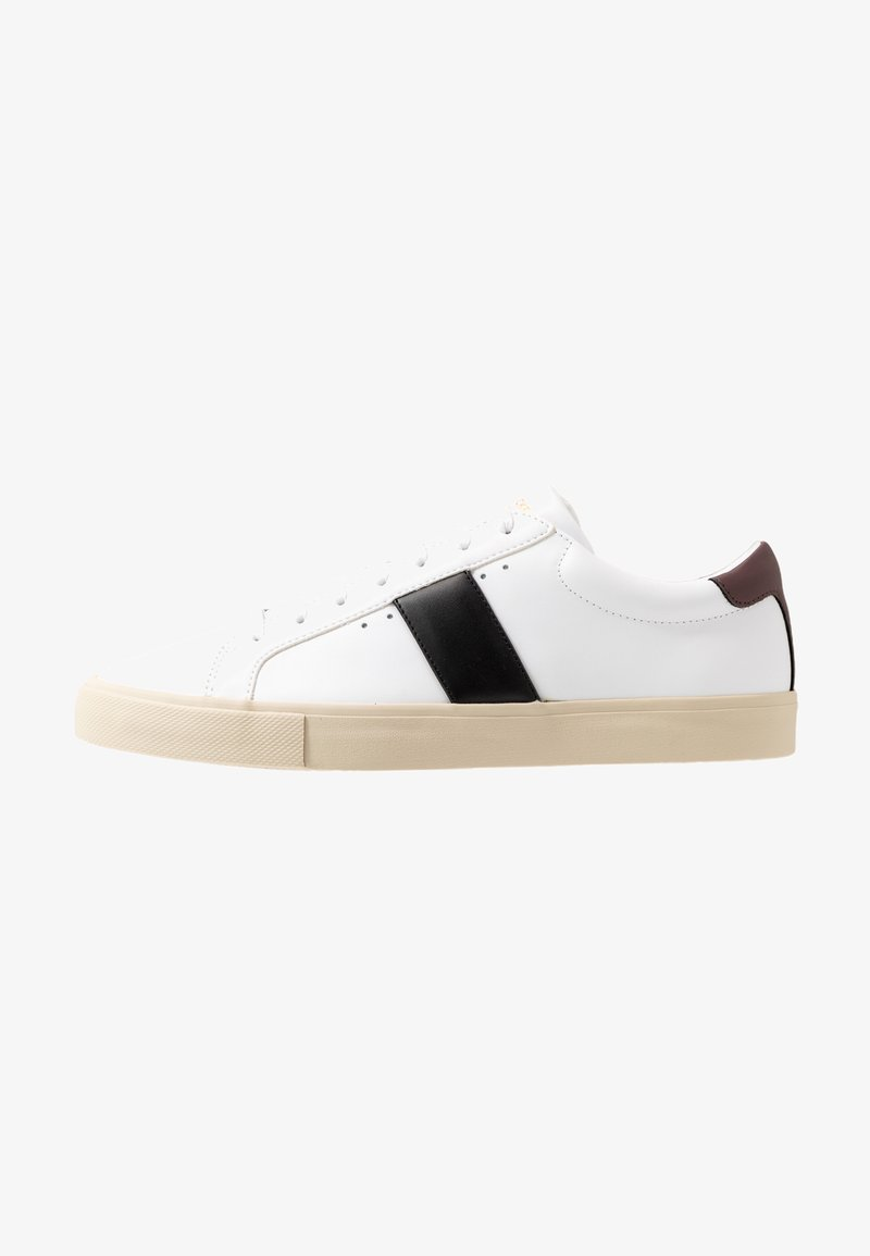 Jim Rickey - CHOP EVO - Trainers - white/black/deep bordeaux