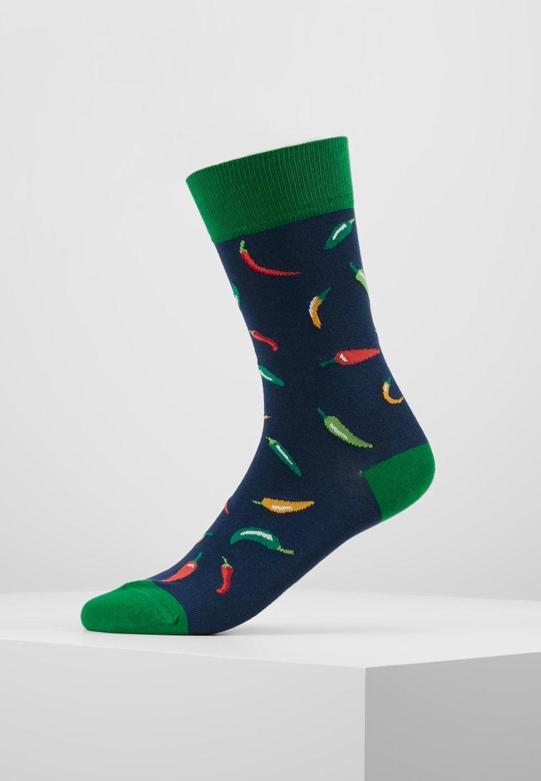 Jimmy Lion - CHILI PEPPERS - Socks - blue