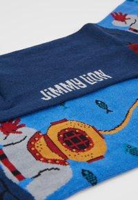 Jimmy Lion - ACQUALUNG - Socks - blue - 2