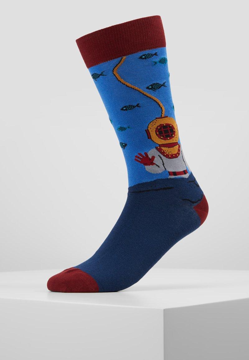 Jimmy Lion - ACQUALUNG - Socks - blue