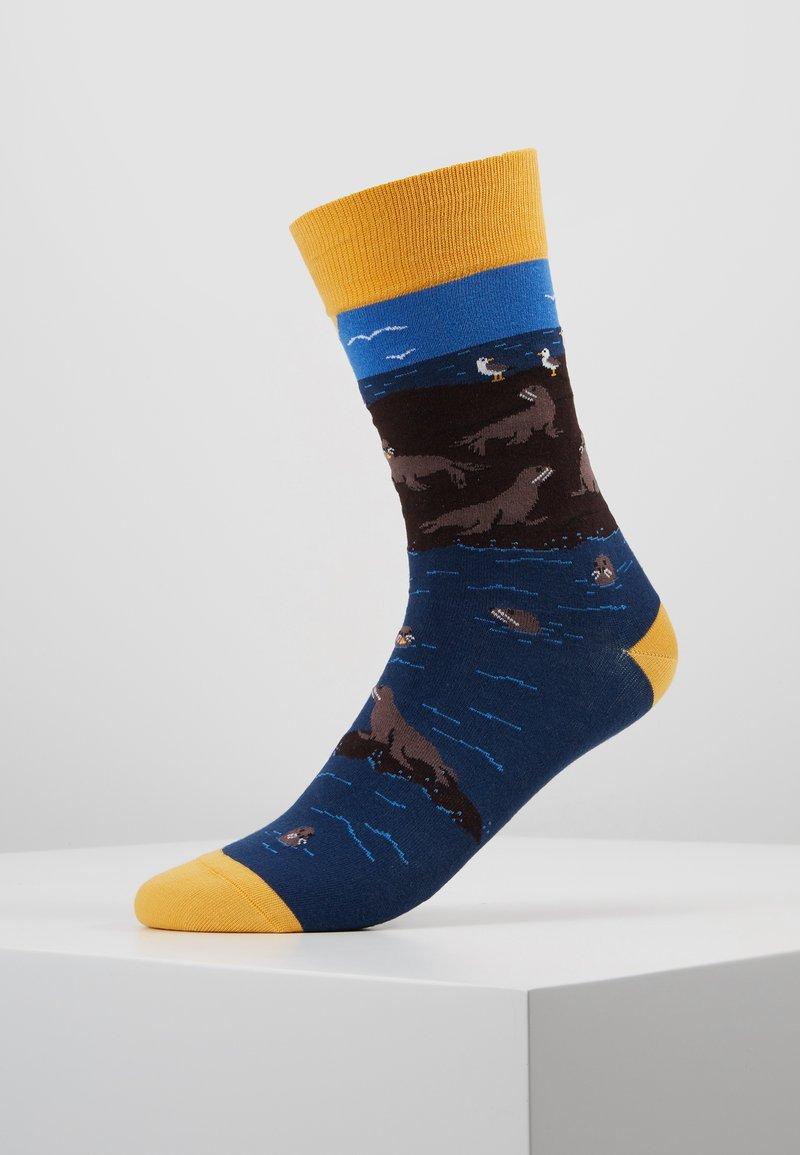 Jimmy Lion - SEAL ISLAND - Calcetines - dark blue